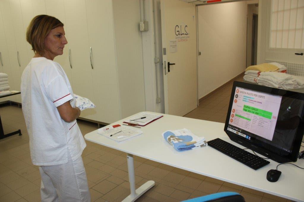 la mission di gls lavanderie sanitarie
