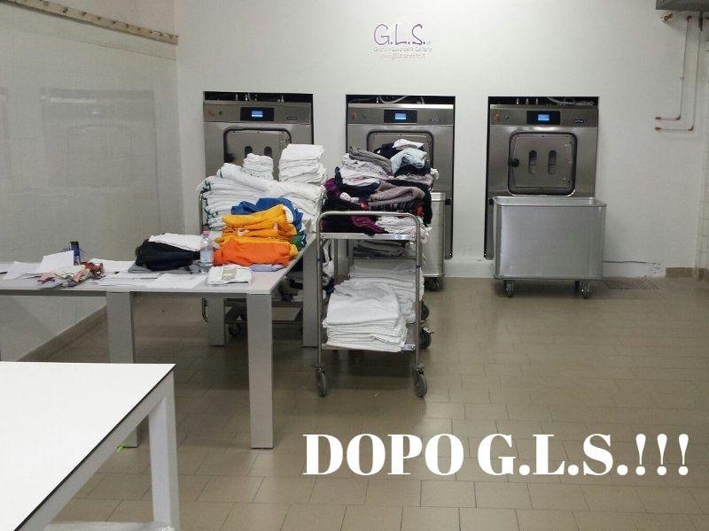 lavanderia dopo gls
